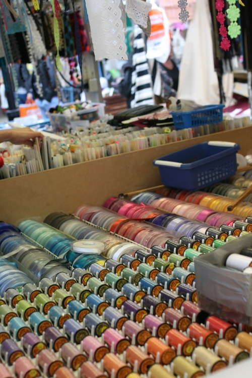 If only my sewing room was this neat and organized